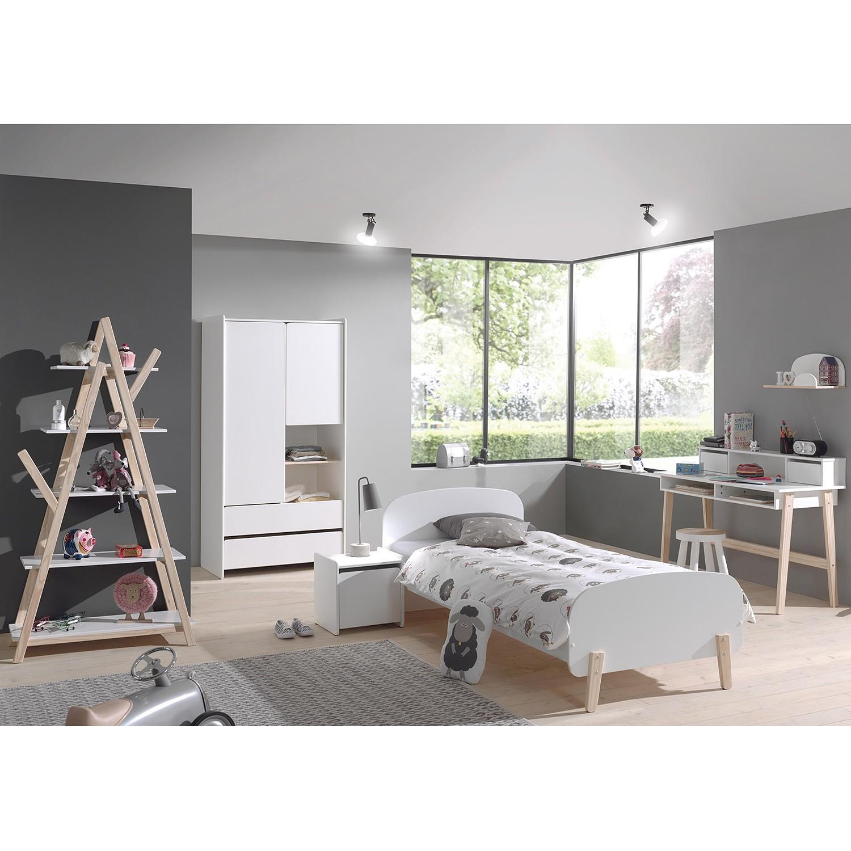home24 Kinderbett-Set Kiddy (2-teilig) | Kinderzimmer > Textilien für Kinder > Kinderbettwäsche | Weiss | Vipack