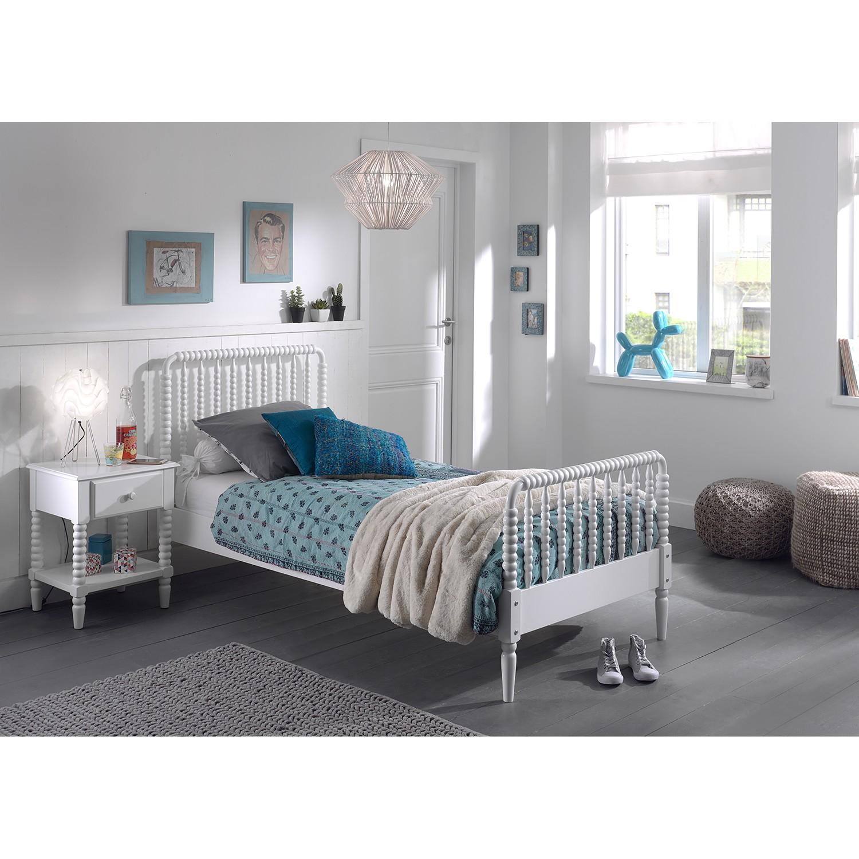 home24 Kinderbett-Set Alana (2-teilig) | Kinderzimmer > Textilien für Kinder > Kinderbettwäsche | Weiss | Vipack