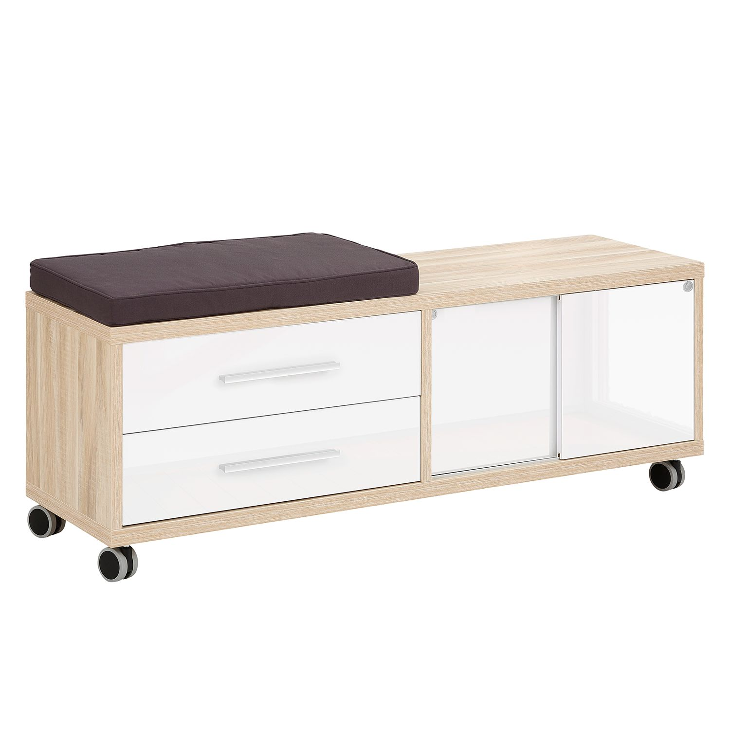 home24 Rollcontainer Set Plus I