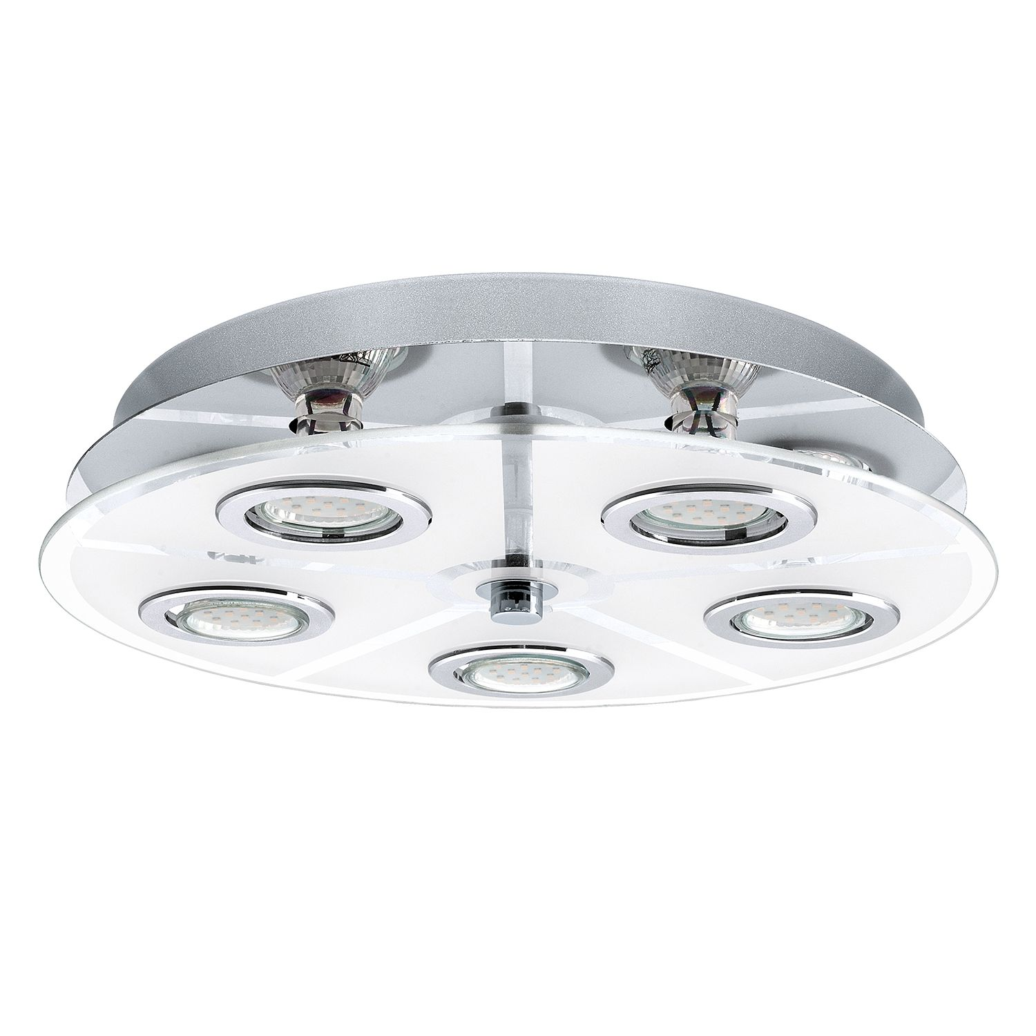 home24 LED-Deckenleuchte Cabo III