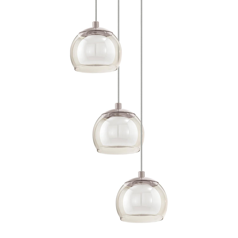 home24 LED-Pendelleuchte Ascolese