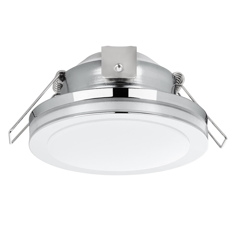 home24 LED-Einbauleuchte Pineda VIII | Lampen > Strahler und Systeme > Möbelaufbaustrahler | Silber | Eglo