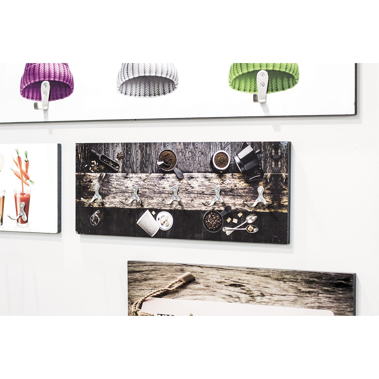 home24 Wandgarderobe Myalup | Flur & Diele > Garderoben | Braun | mooved