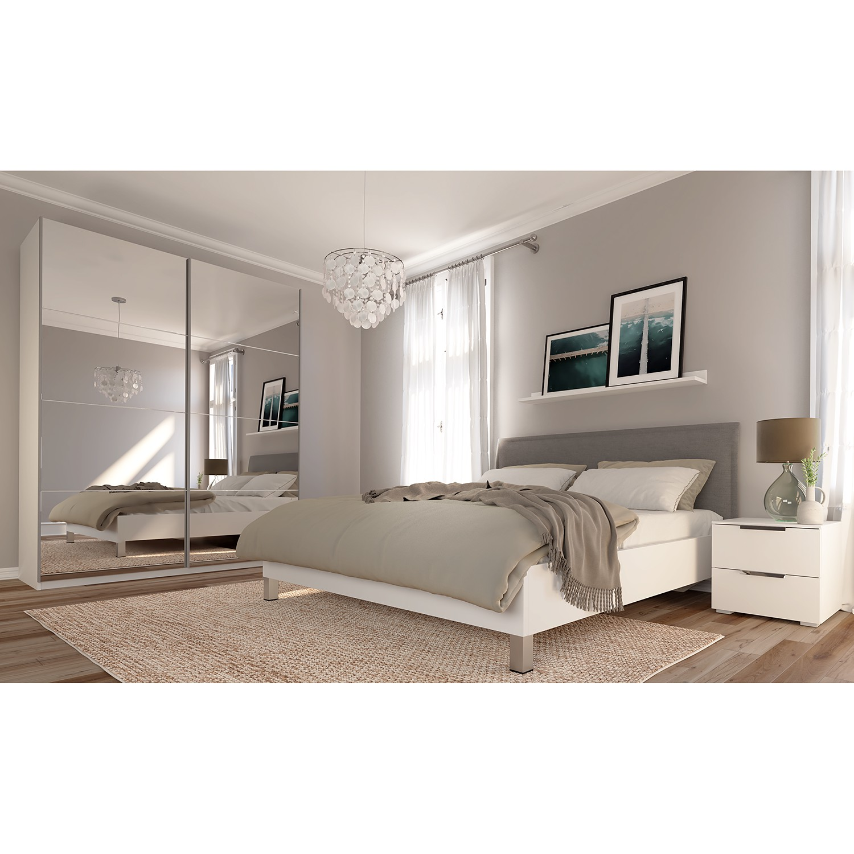 Schlafzimmermöbel - Schwebetuerenschrank SKOEP IV - SKOEP - Weiss