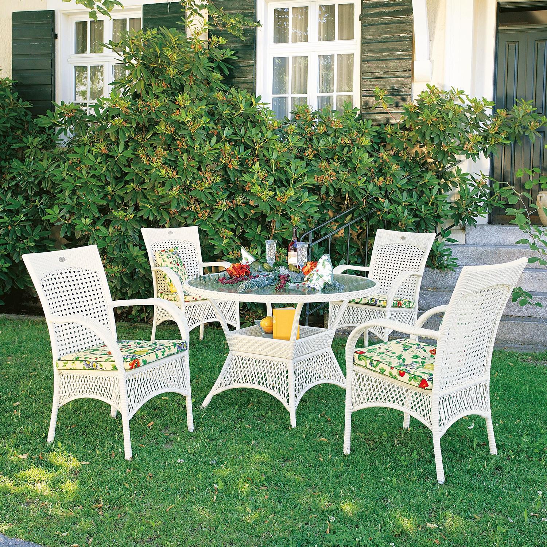 home24 Gartenessgruppe Madelene (9-teilig)