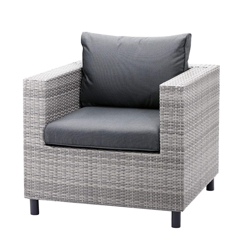 "*NEU*: Lounge-Sessel ""Bonaire II"" aus Polyrattan, grau"