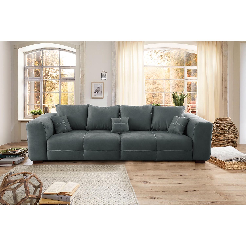 home24 Big Sofa Modave   Wohnzimmer > Sofas & Couches > Bigsofas   Grau   loftscape