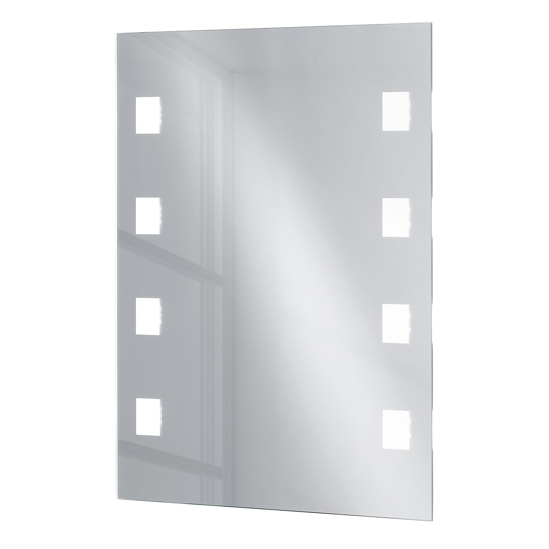 home24 LED-Wandleuchte Spiegel