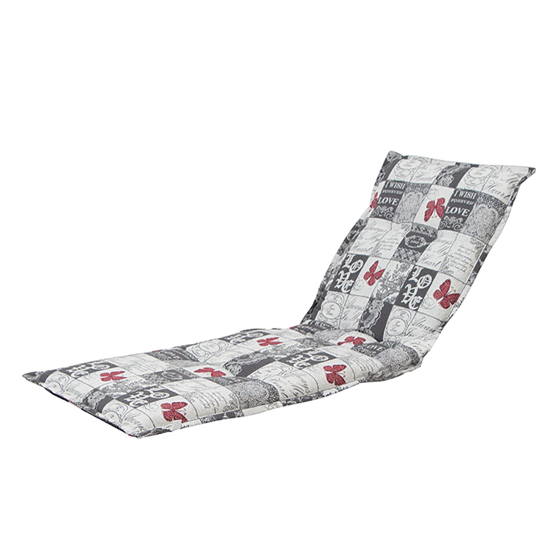 home24 Liegenauflage Kiruna | Garten > Gartenmöbel > Sitzauflagen | Grau | Textil | Gautzsch