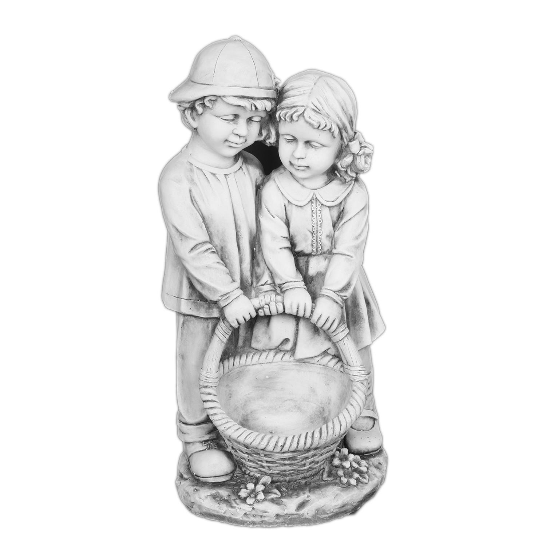 Gartenfigur Junge und Maedchen, twentyfour