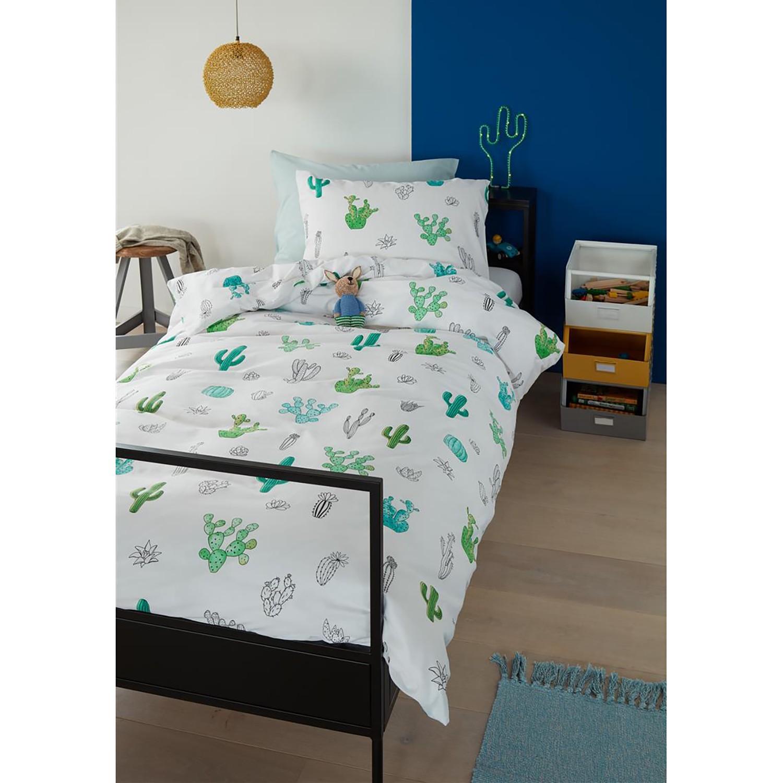 home24 Kinderbettwaesche Cactus | Kinderzimmer > Textilien für Kinder > Kinderbettwäsche | Beddinghouse