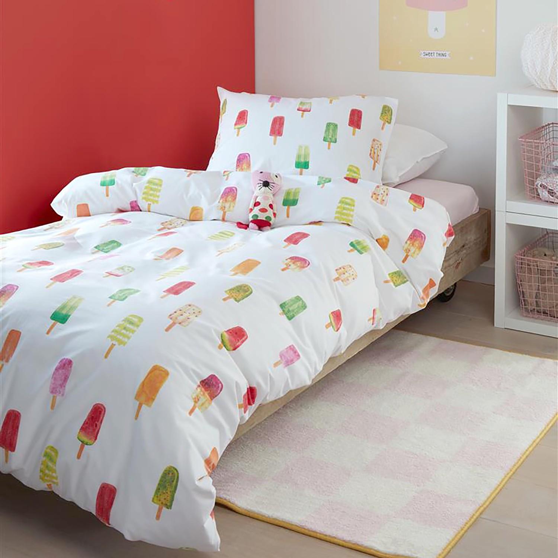 home24 Kinderbettwaesche Ice Cream   Kinderzimmer > Textilien für Kinder > Kinderbettwäsche   Beddinghouse