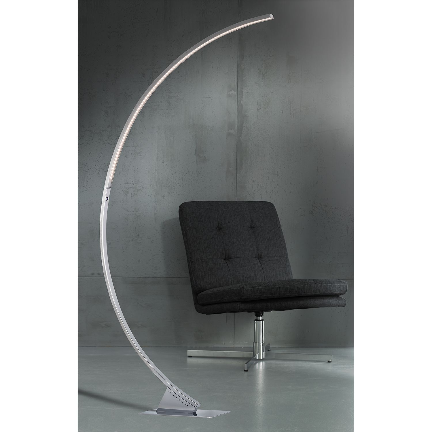 home24 LED-Stehleuchte Luz II