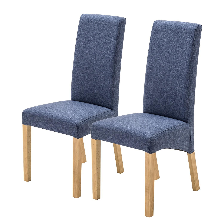Home24 Gestoffeerde stoelen Foxa (set van 2), Ars Natura