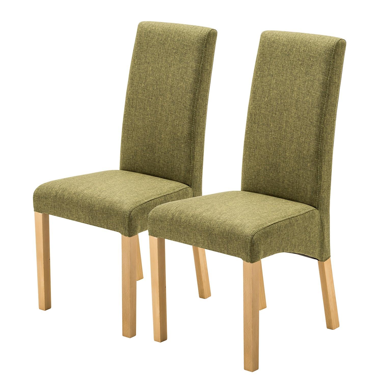 Home24 Gestoffeerde stoelen Foxa (set van 2), home24