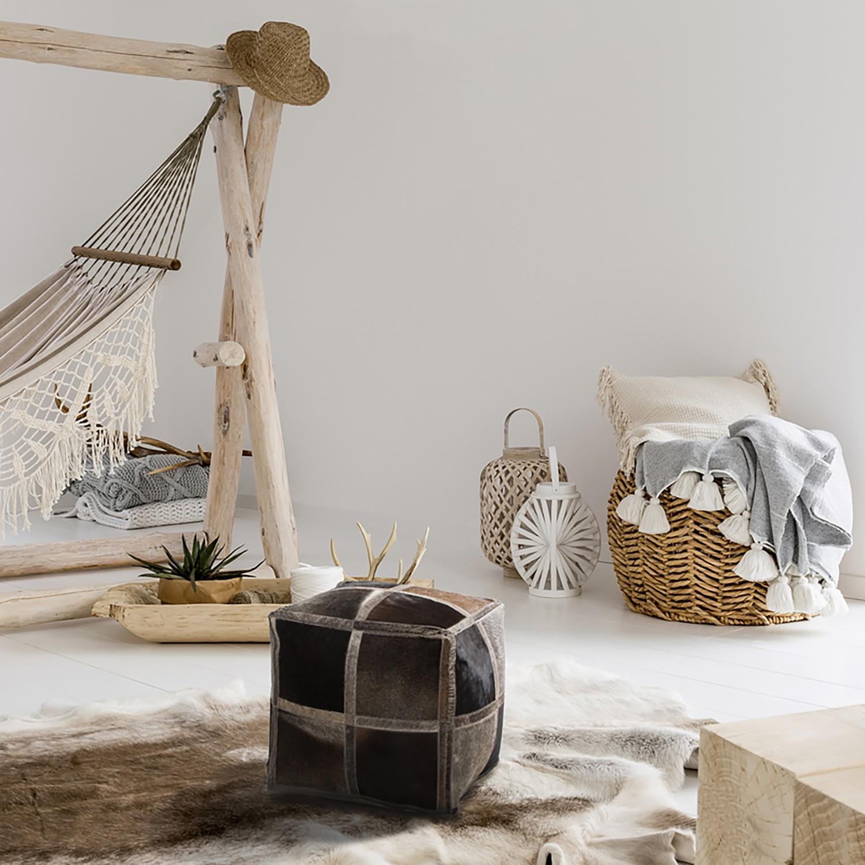 home24 Sitzwuerfel Lavish Caro | Wohnzimmer > Hocker & Poufs > Sitzwürfel | Kayoom