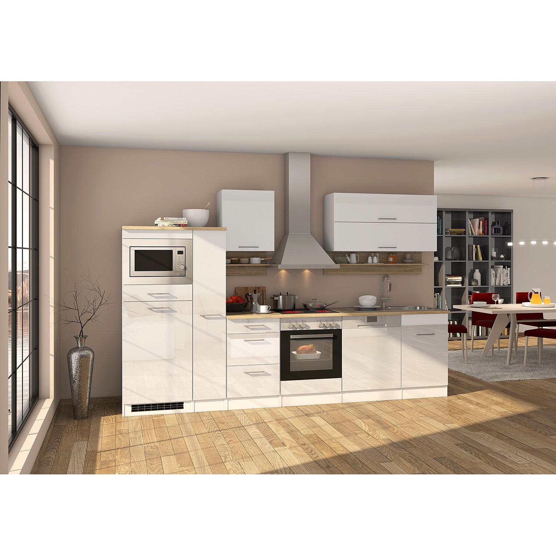 home24 Kuechenzeile Mailand IV | Küche und Esszimmer > Küchen > Küchenzeilen | Weiss | Held Moebel