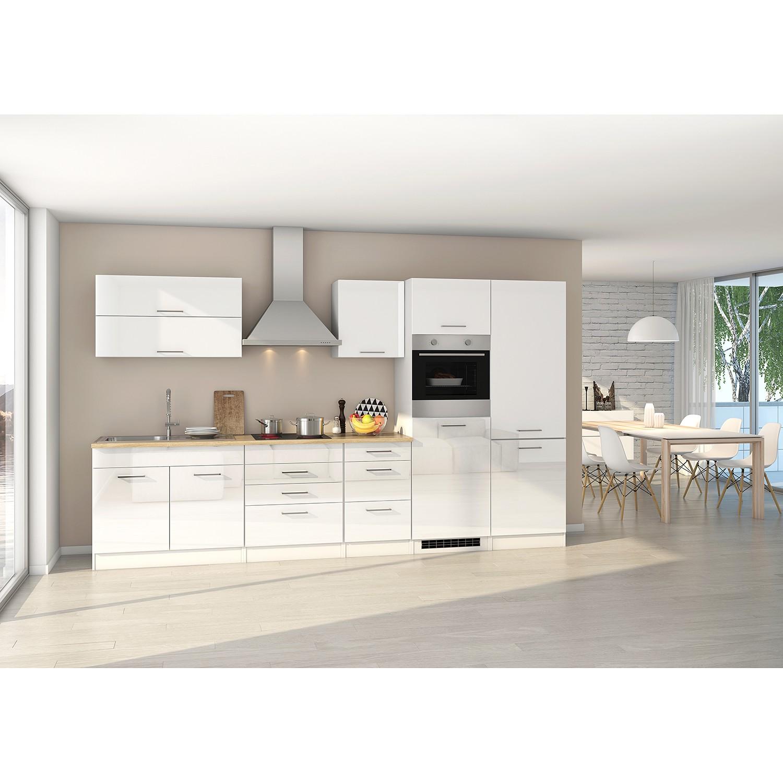 home24 Kuechenzeile Mailand XII   Küche und Esszimmer > Küchen > Küchenzeilen   Weiss   Held Kuechen