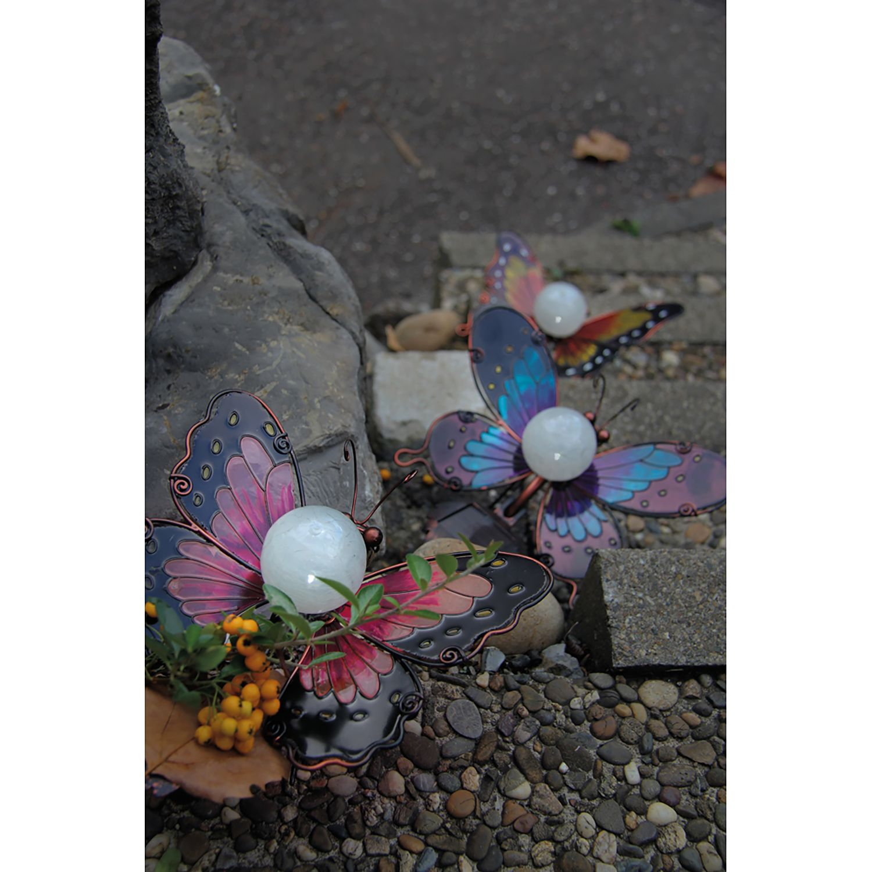 Solar-Dekoleuchte Schmetterling II, Näve