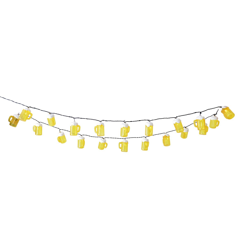 LED-Lichterkette Bierkrug, Näve