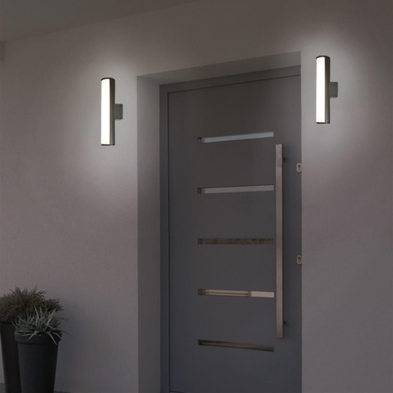 home24 LED-Aussenwandleuchte Katherine