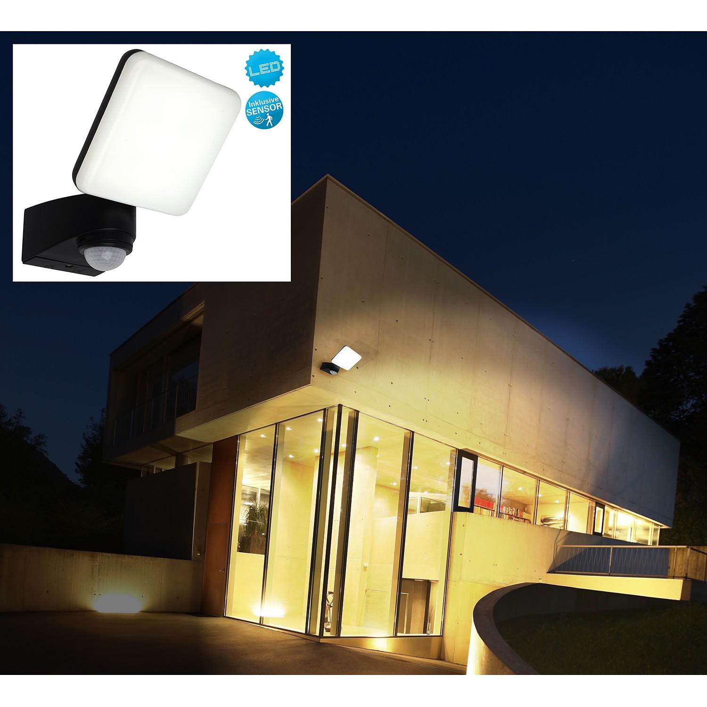 home24 LED-Aussenwandleuchte Jaro I