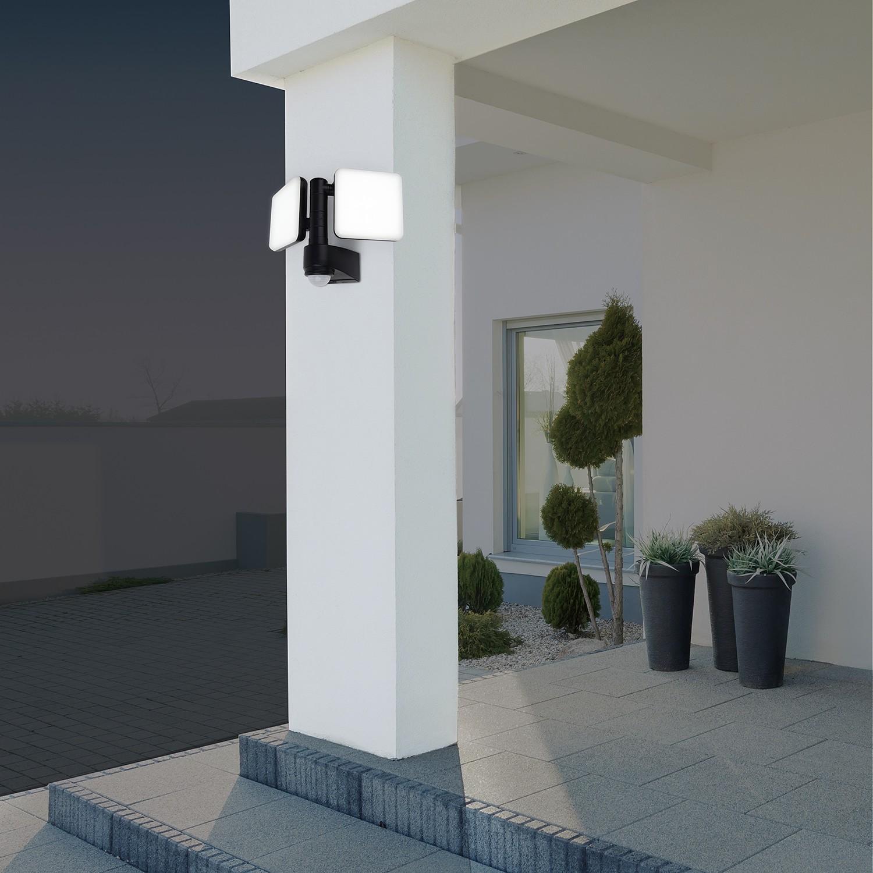 home24 LED-Aussenwandleuchte Jaro II