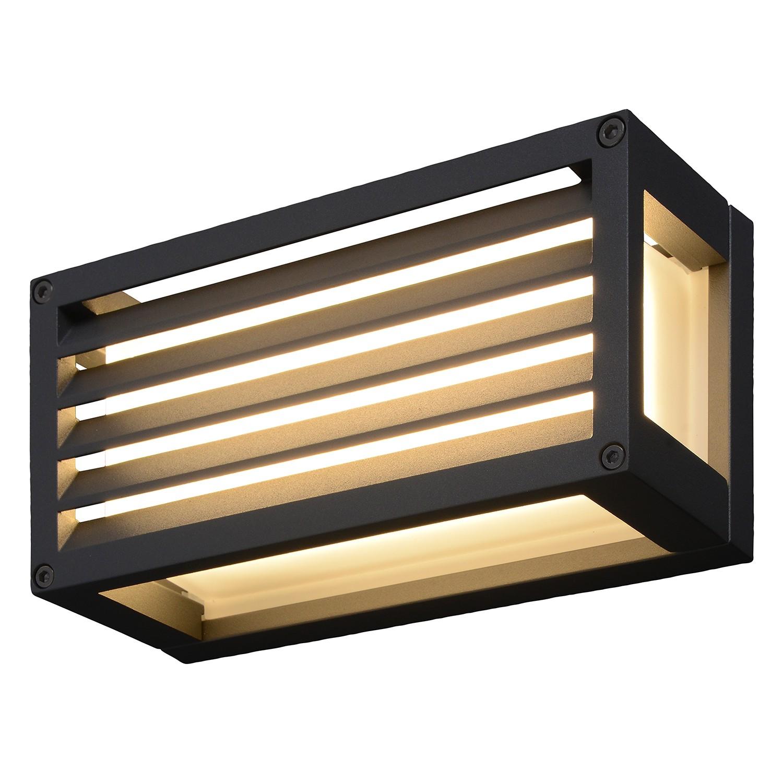 home24 LED-Aussenwandleuchte Ray III