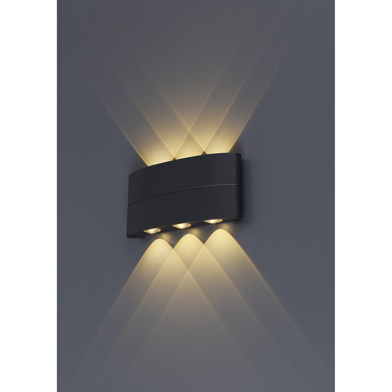 home24 LED-Aussenwandleuchte Auron I