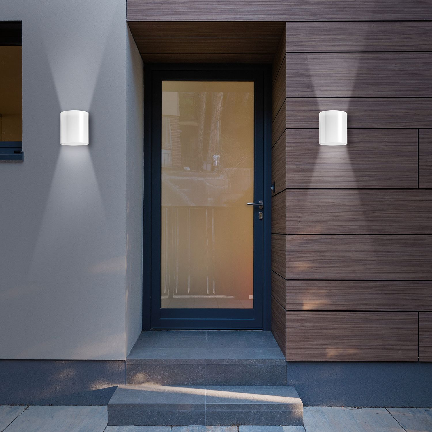 home24 LED-Aussenwandleuchte Narbo