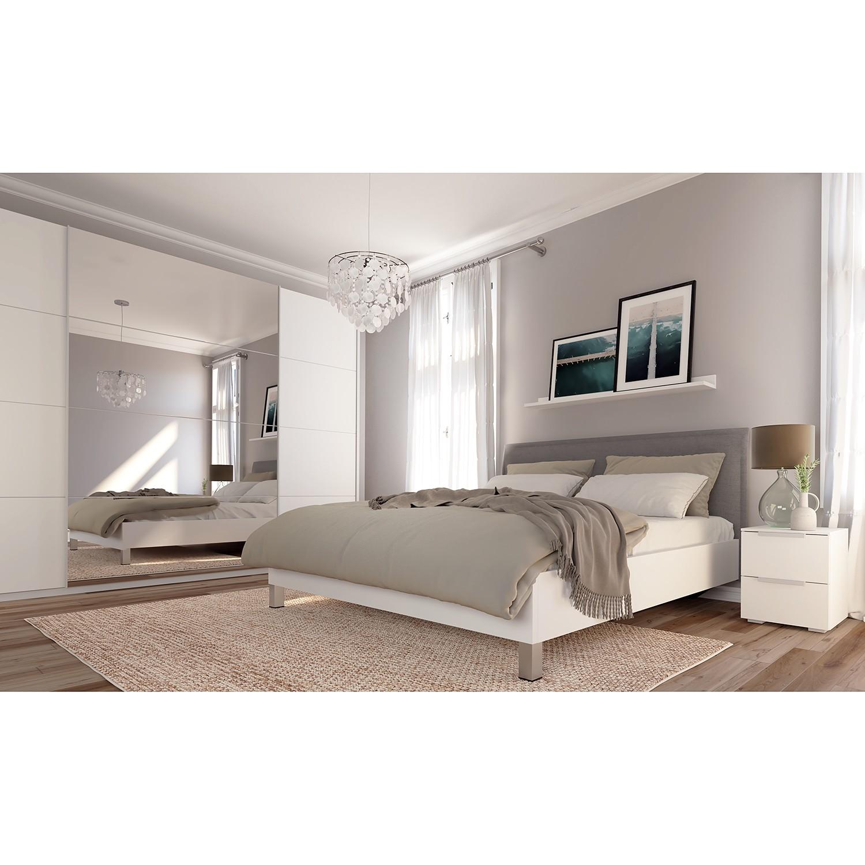 Schwebetuerenschrank SKOEP VI | Schlafzimmer > Kleiderschränke > Schwebetürenschränke | Weiss | Holzwerkstoff | SKOEP