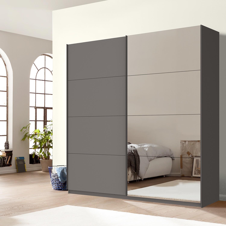 home24 Schwebetuerenschrank SKOEP VII | Schlafzimmer > Kleiderschränke > Schwebetürenschränke | Grau | SKOEP