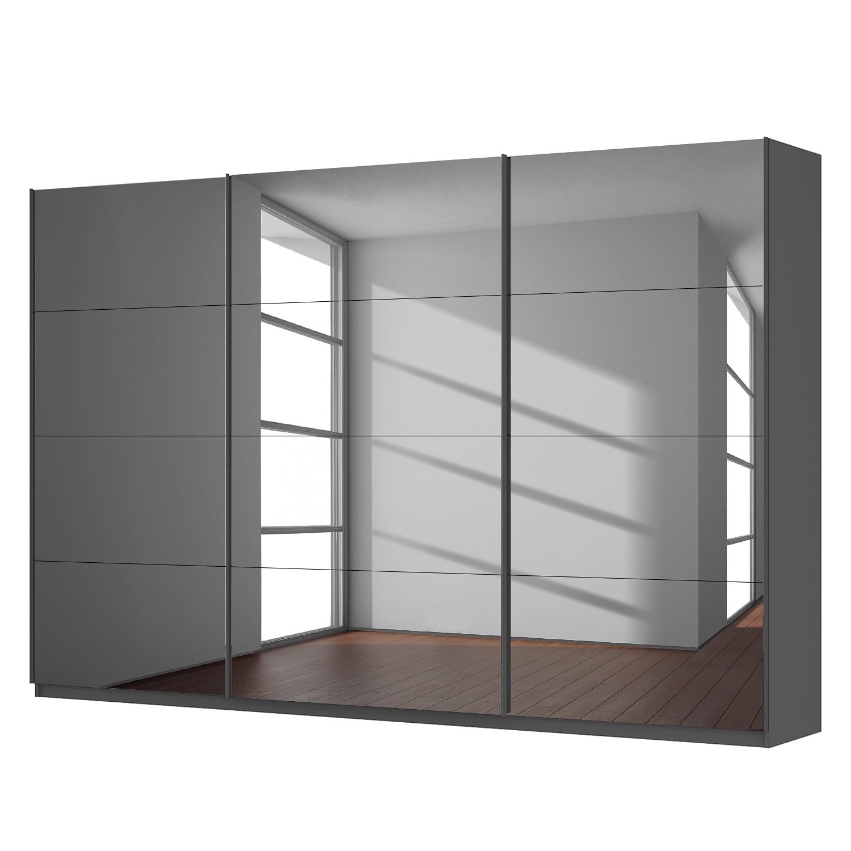 home24 Schwebetuerenschrank SKOEP V | Schlafzimmer > Kleiderschränke > Schwebetürenschränke | Grau | SKOEP