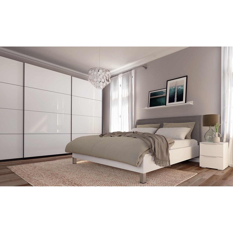Schwebetuerenschrank SKOEP II | Schlafzimmer > Kleiderschränke > Schwebetürenschränke | Weiss | Holzwerkstoff | SKOEP