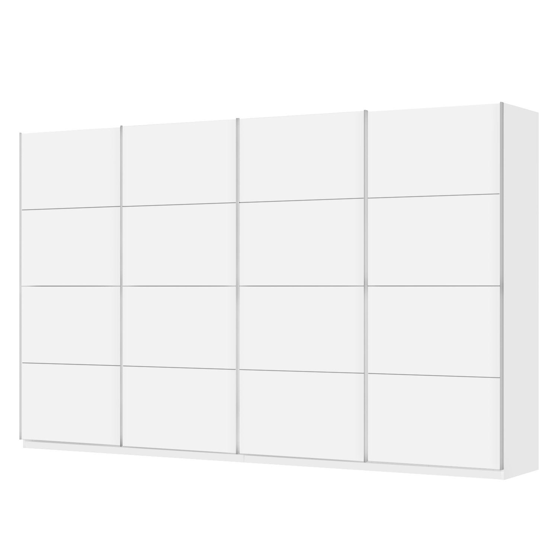 home24 Schwebetuerenschrank SKOEP I | Schlafzimmer > Kleiderschränke > Schwebetürenschränke | Weiss | SKOEP