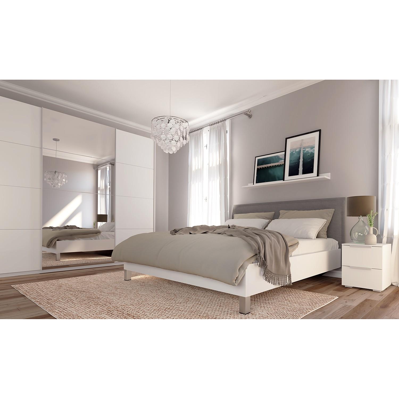 Schwebetuerenschrank SKOEP VIII | Schlafzimmer > Kleiderschränke > Schwebetürenschränke | Weiss | Holzwerkstoff | SKOEP
