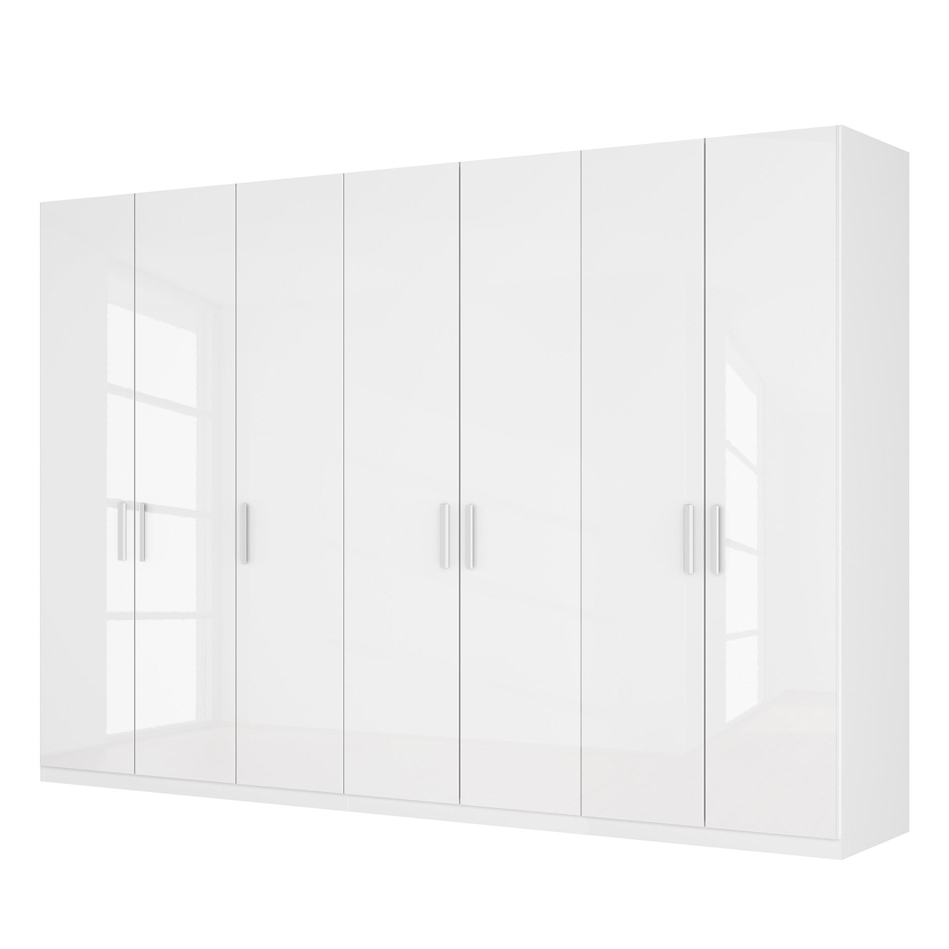 Drehtuerenschrank SKOEP III | Schlafzimmer > Kleiderschränke > Drehtürenschränke | Weiss | Holzwerkstoff | SKOEP
