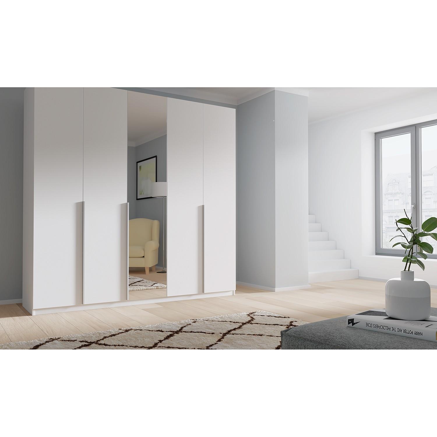 Schlafzimmermöbel - Drehtuerenschrank SKOEP XIII - SKOEP - Weiss