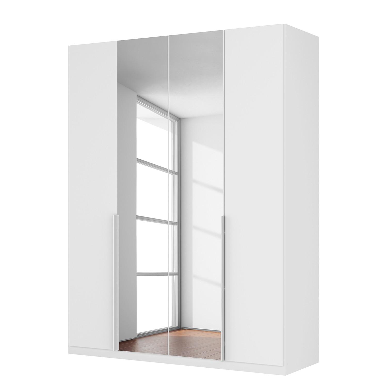 Drehtuerenschrank SKOEP XIII | Schlafzimmer > Kleiderschränke | Weiss | Holzwerkstoff - Glas | SKOEP