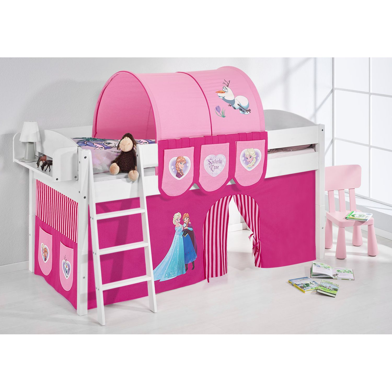 Spielbett IDA 4105 Eiskoenigin Rosa, Lilokids