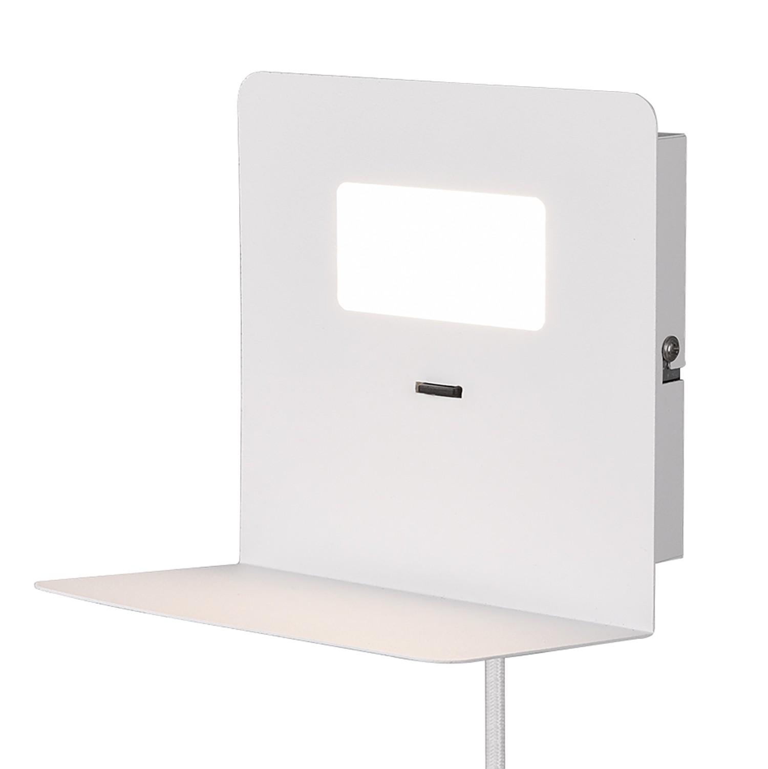 home24 LED-Wandleuchte Aloft