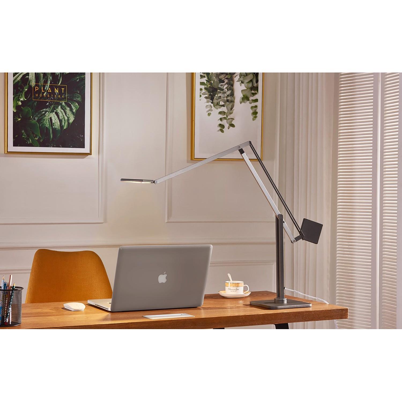 home24 LED-Tischleuchte Cubic