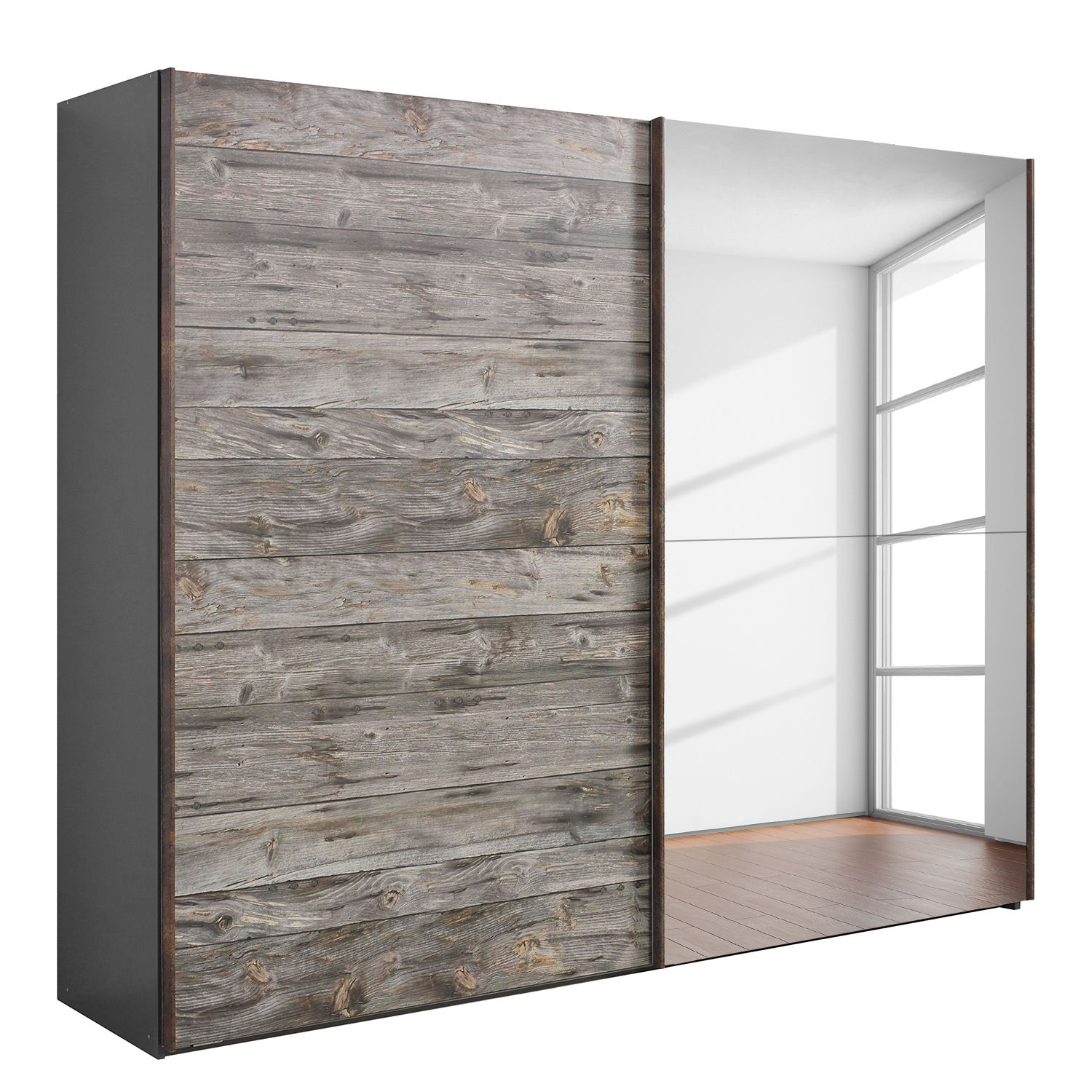 Armoire portes coulissantes Timberstyle