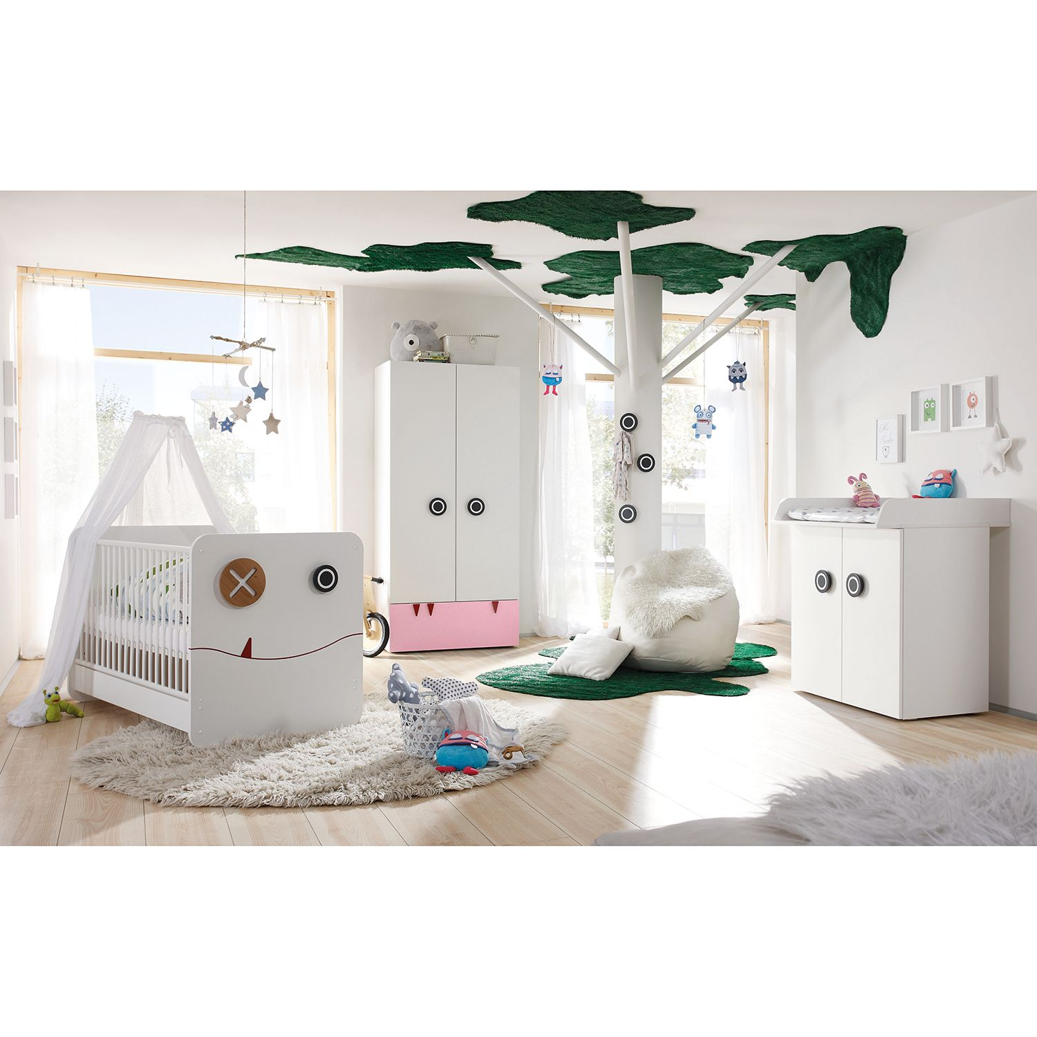 home24 Babyzimmer Hülsta now minimo I (5-tlg) | Kinderzimmer | now! by huelsta