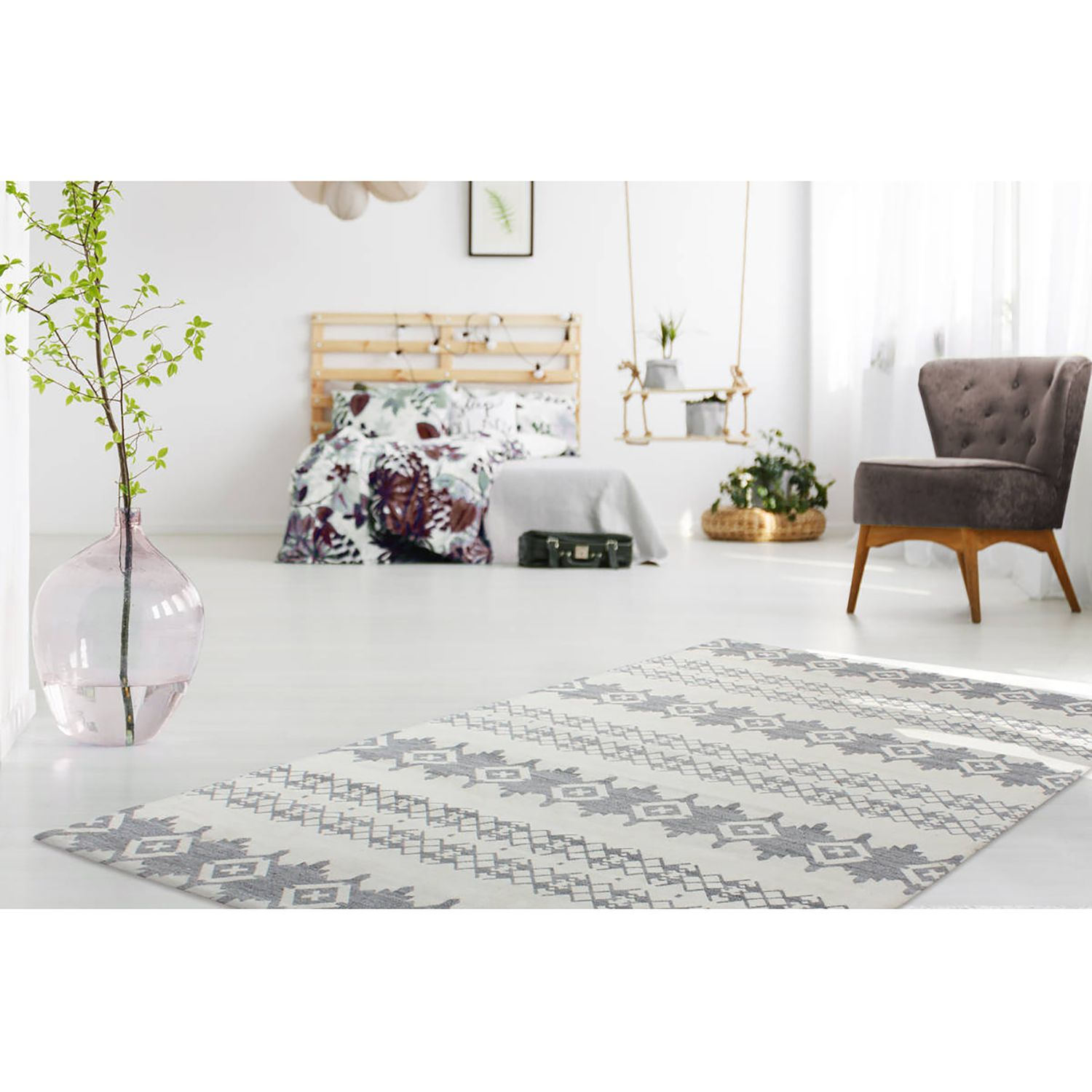home24 Kurzflorteppich Mirage 410