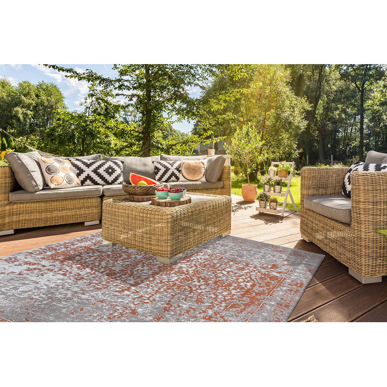 home24 In-/Outdoorteppich Sunny 310