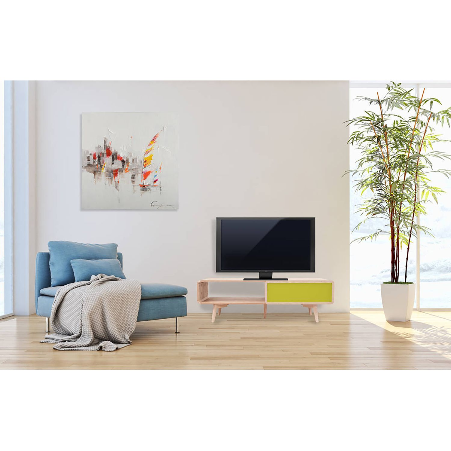 home24 TV-Lowboard Addison