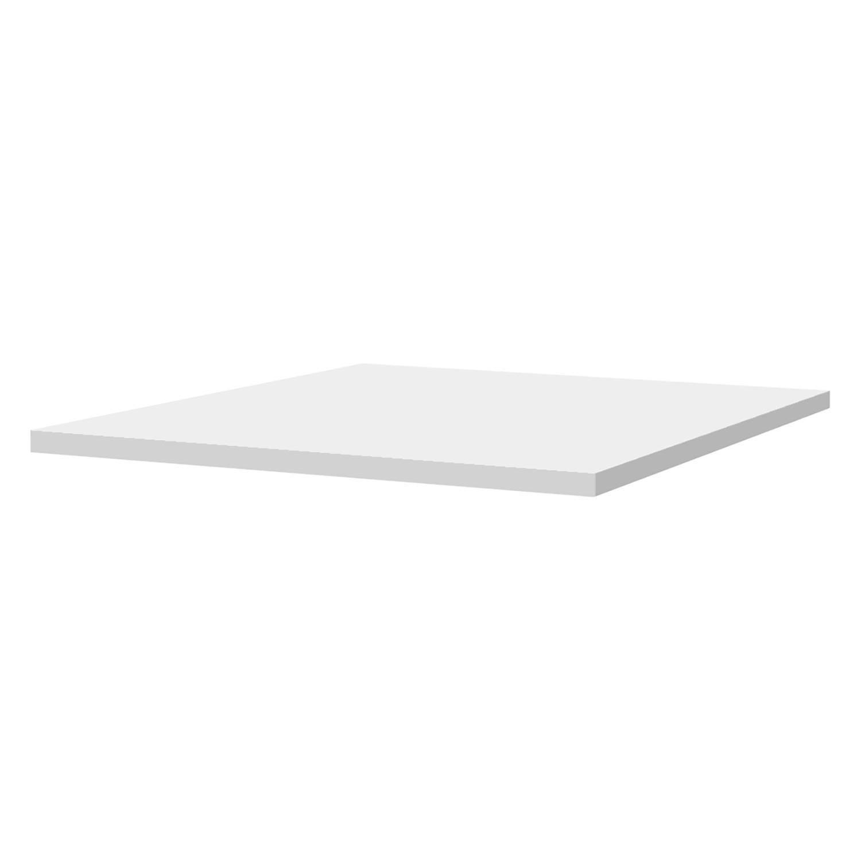 Einlegeboden hülsta now for you I Modern Weiß MDF 49x1.9x40 cm (BxHxT)