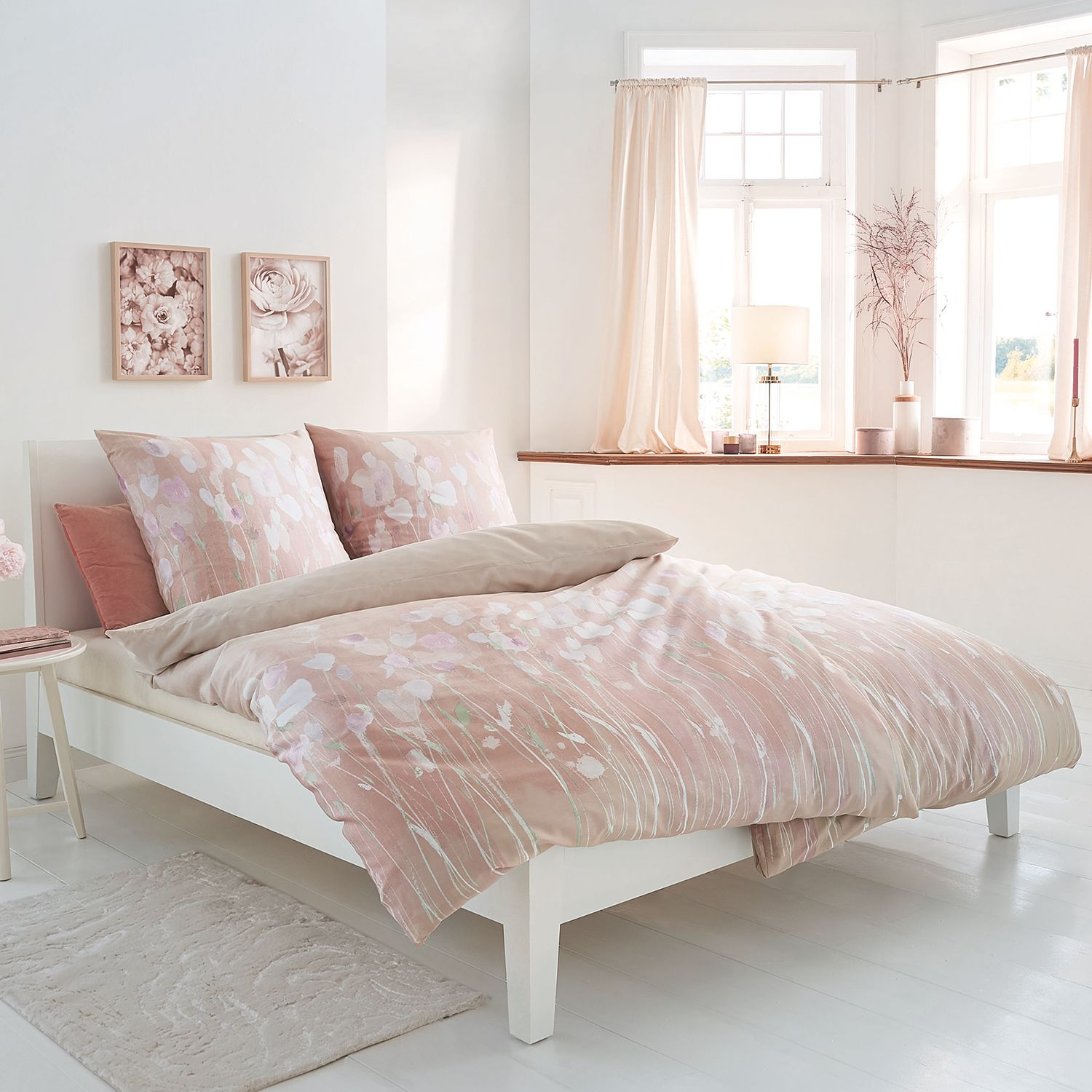home24 Mako-Satin-Bettwaesche Fiorello