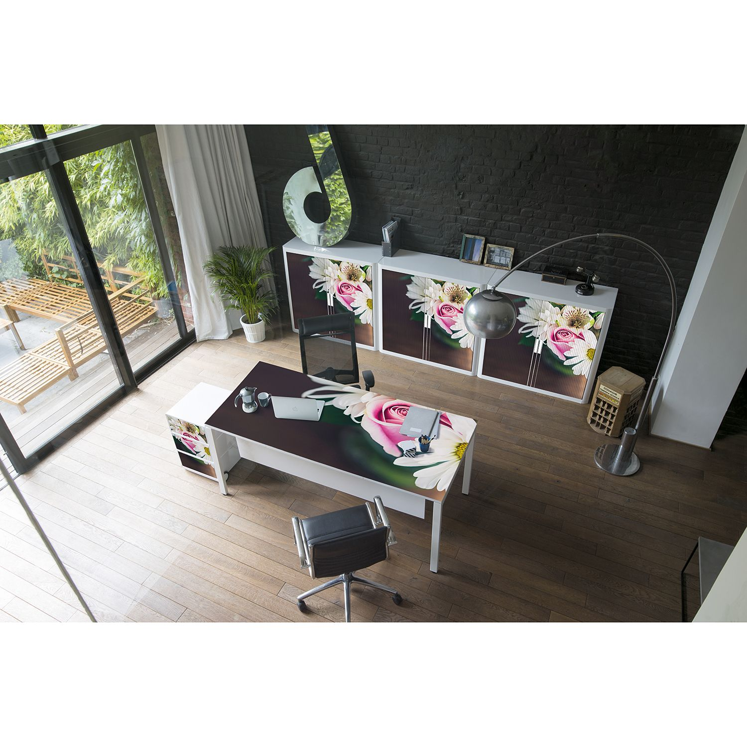 home24 Rollcontainer easyBox Floral II